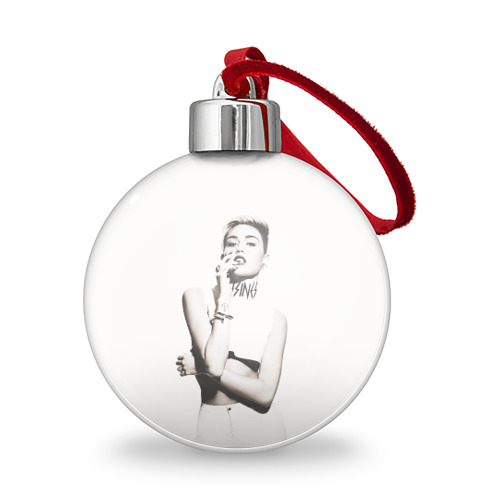 Ёлочный шар  Фото 01, Miley