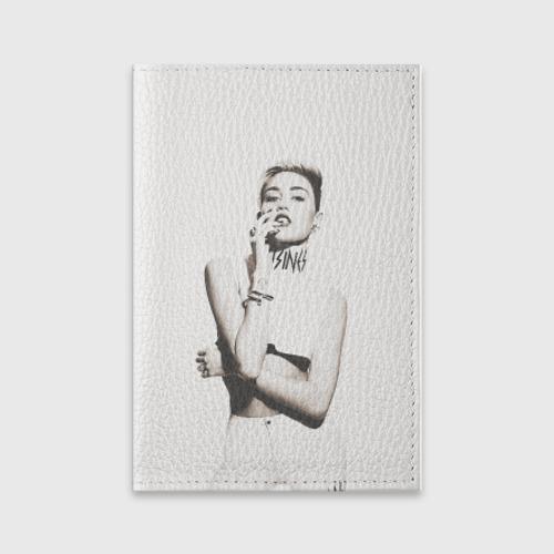 Обложка для паспорта матовая кожа  Фото 01, Miley
