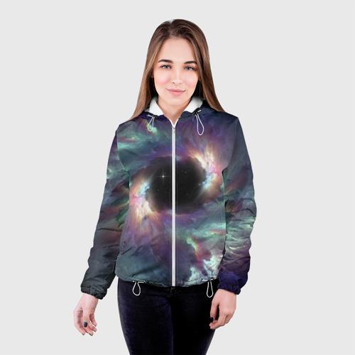 Женская куртка 3D  Фото 03, Star light space