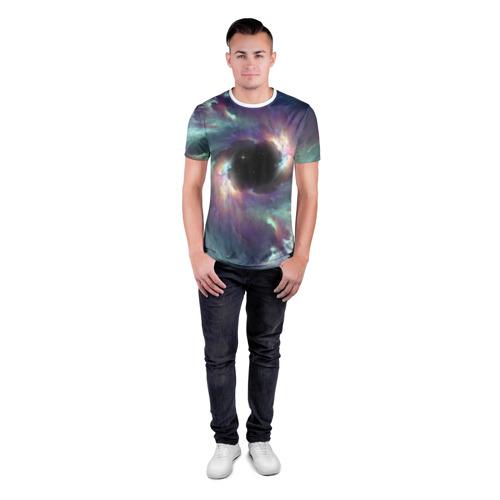 Мужская футболка 3D спортивная  Фото 04, Star light space