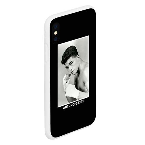 Чехол для iPhone XS Max матовый Артуро Гатти чб Фото 01