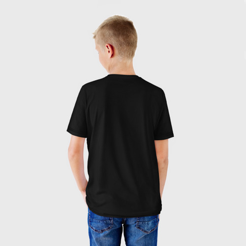 Детская футболка 3D  Фото 02, Артуро Гатти чб