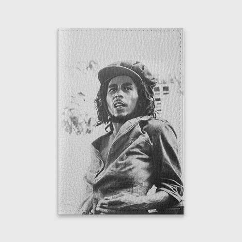 Обложка для паспорта матовая кожа  Фото 01, Боб Марли 1
