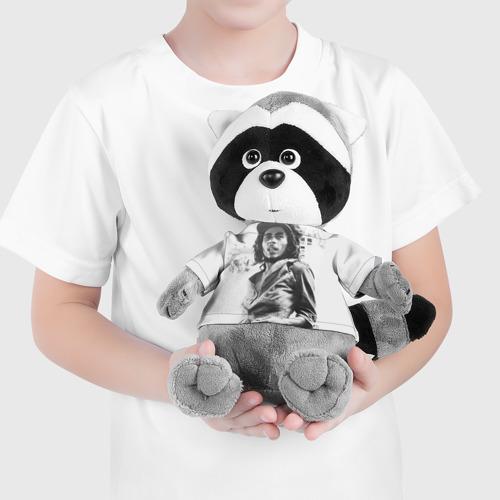 Енотик в футболке 3D  Фото 04, Боб Марли 1