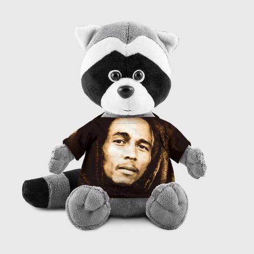 Енотик в футболке 3D  Фото 01, Боб Марли 3