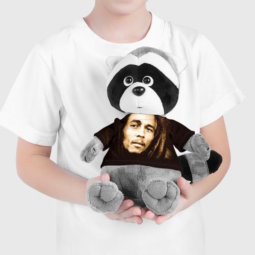 Енотик в футболке 3D  Фото 04, Боб Марли 3