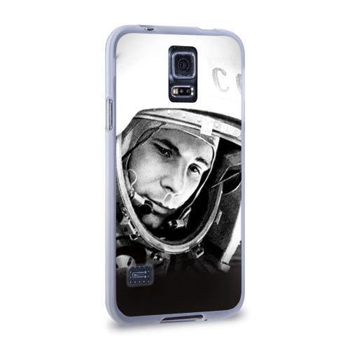 Чехол для Samsung Galaxy S5 силиконовый  Фото 02, Гагарин 1