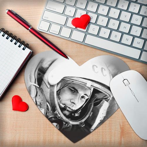 Коврик для мыши сердце  Фото 02, Гагарин 1