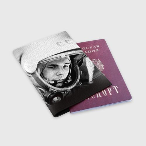 Обложка для паспорта матовая кожа  Фото 03, Гагарин 1