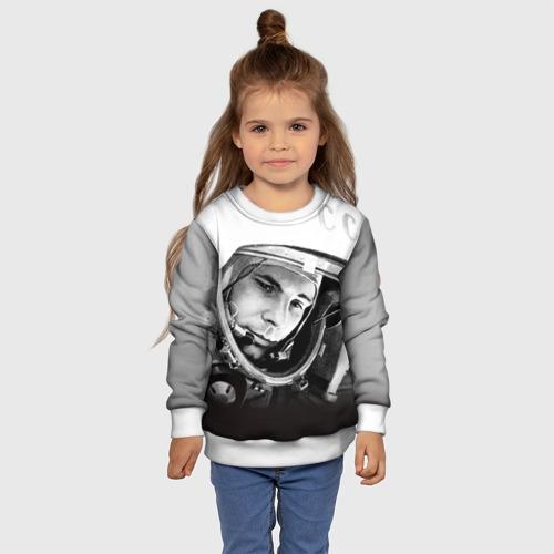 Детский свитшот 3D Гагарин 1 Фото 01