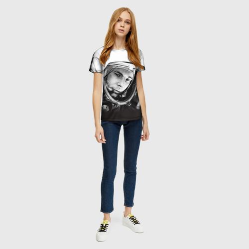 Женская футболка 3D Гагарин 1 Фото 01