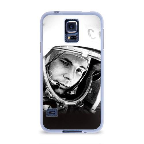 Чехол для Samsung Galaxy S5 силиконовый  Фото 01, Гагарин 1