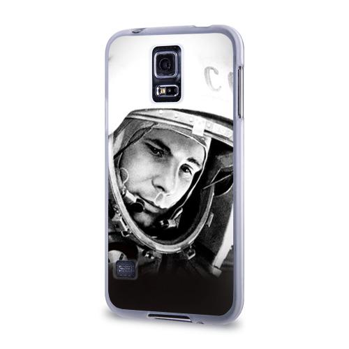 Чехол для Samsung Galaxy S5 силиконовый  Фото 03, Гагарин 1