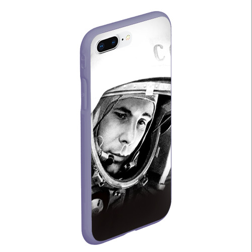 Чехол для iPhone 7Plus/8 Plus матовый Гагарин 1 Фото 01