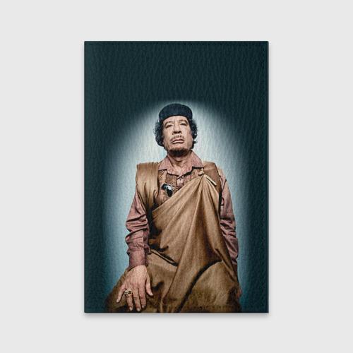 Обложка для паспорта матовая кожа  Фото 01, Каддафи 1