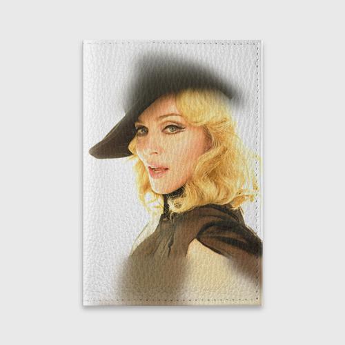 Обложка для паспорта матовая кожа  Фото 01, Мадонна 2