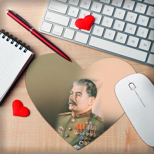 Коврик для мыши сердце  Фото 02, Сталин 1