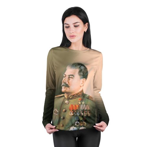 Женский лонгслив 3D для беременных  Фото 04, Сталин 1