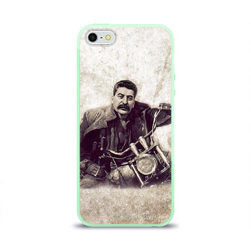 Чехол для iPhone 5/5S глянцевый Сталин 2 Фото 01