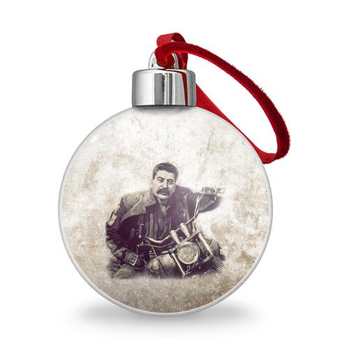 Ёлочный шар Сталин 2 Фото 01