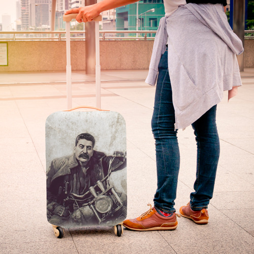 Чехол для чемодана 3D Сталин 2 Фото 01