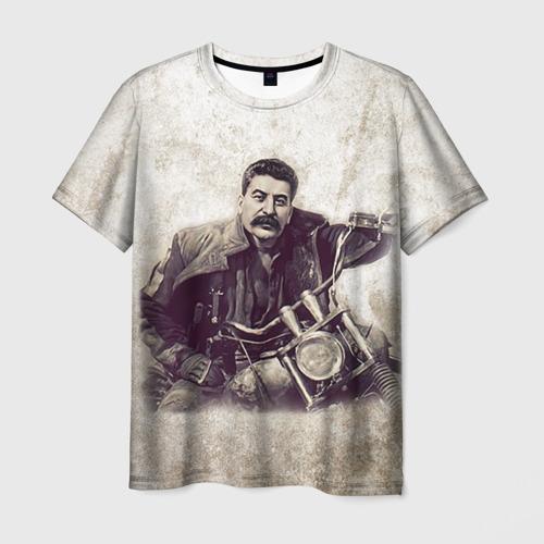 Мужская футболка 3D  Фото 03, Сталин 2