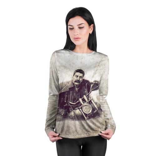Женский лонгслив 3D для беременных  Фото 04, Сталин 2
