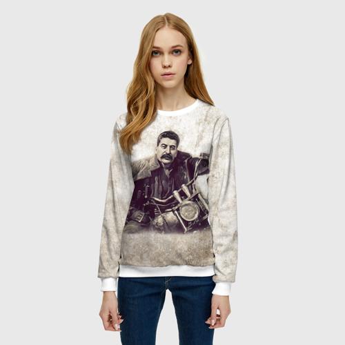 Женский свитшот 3D Сталин 2 Фото 01
