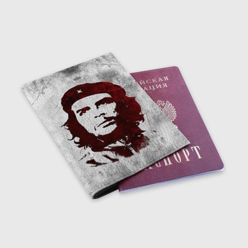 Обложка для паспорта матовая кожа  Фото 03, Че Гевара 1