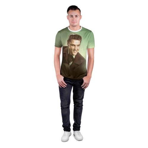 Мужская футболка 3D спортивная  Фото 04, Элвис 2