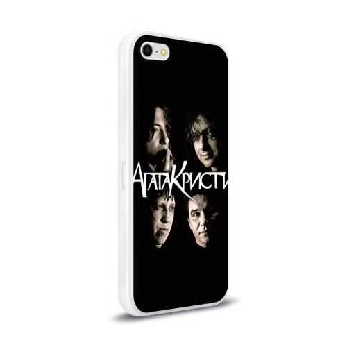 Чехол для Apple iPhone 5/5S силиконовый глянцевый  Фото 02, Агата Кристи 2