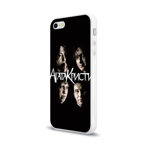 Чехол для Apple iPhone 5/5S силиконовый глянцевый  Фото 03, Агата Кристи 2