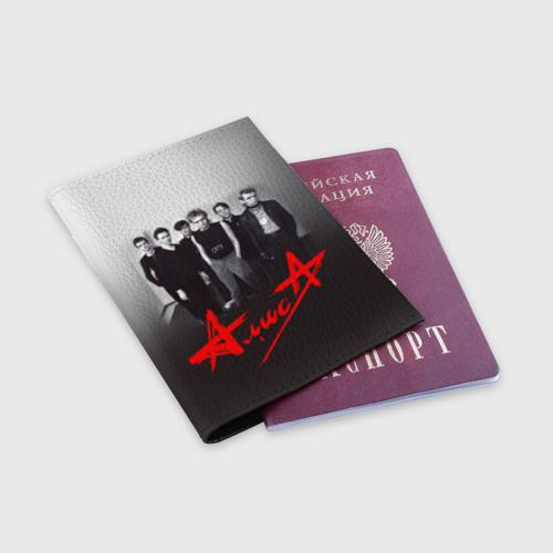 Обложка для паспорта матовая кожа  Фото 03, Алиса 1
