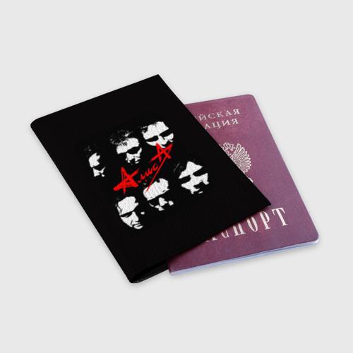 Обложка для паспорта матовая кожа  Фото 03, Алиса 2