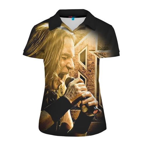 Женская рубашка поло 3D Кипелов 2 Фото 01