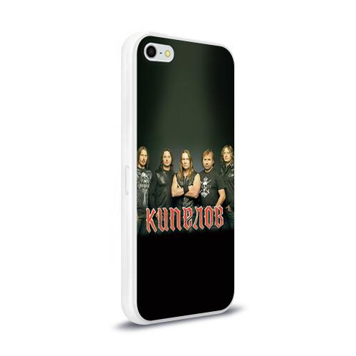 Чехол для Apple iPhone 5/5S силиконовый глянцевый  Фото 02, Кипелов 3