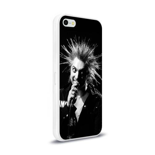 Чехол для Apple iPhone 5/5S силиконовый глянцевый  Фото 02, Горшок 1