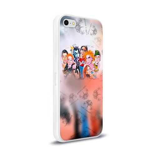 Чехол для Apple iPhone 5/5S силиконовый глянцевый  Фото 02, Король и Шут