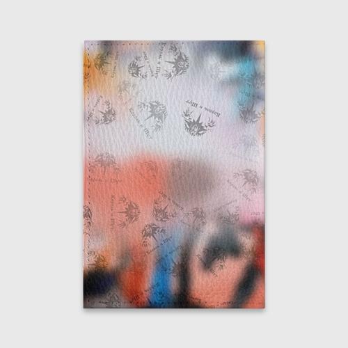 Обложка для паспорта матовая кожа  Фото 02, Король и Шут