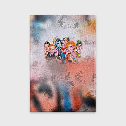 Обложка для паспорта матовая кожа  Фото 01, Король и Шут