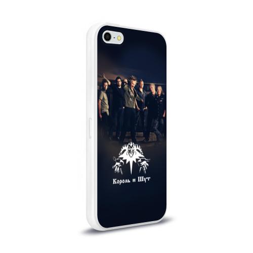 Чехол для Apple iPhone 5/5S силиконовый глянцевый  Фото 02, Король и Шут 1