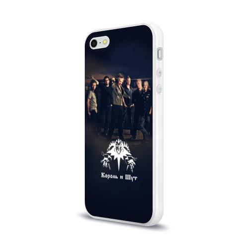 Чехол для Apple iPhone 5/5S силиконовый глянцевый  Фото 03, Король и Шут 1