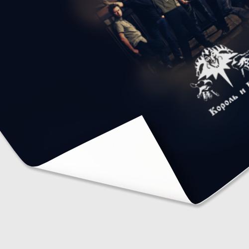Бумага для упаковки 3D Король и Шут 1 Фото 01