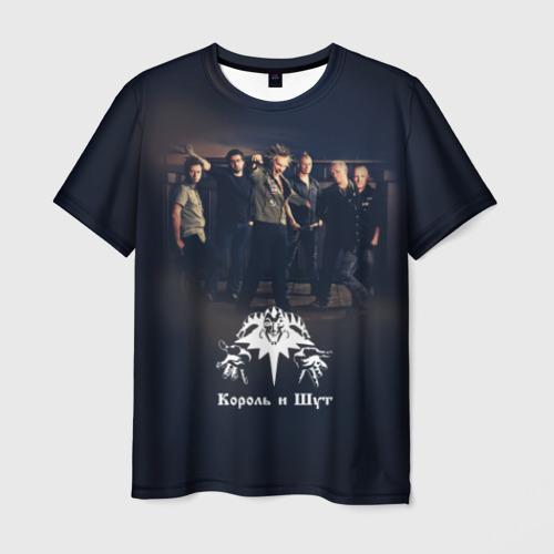 Мужская футболка 3D  Фото 03, Король и Шут 1