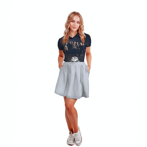 Женская рубашка поло 3D Король и Шут 1 Фото 01
