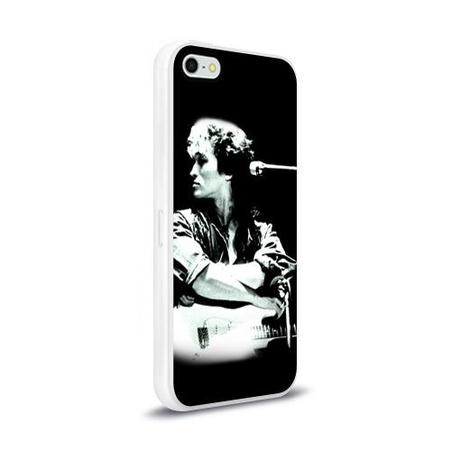 Чехол для Apple iPhone 5/5S силиконовый глянцевый  Фото 02, Цой 2