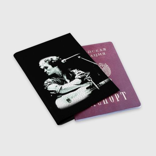 Обложка для паспорта матовая кожа  Фото 03, Цой 2