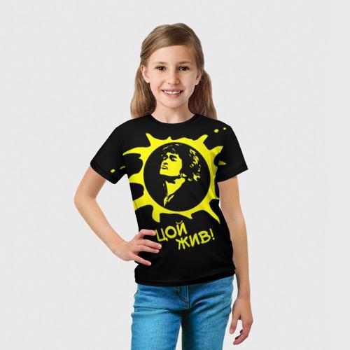 Детская футболка 3D  Фото 03, Цой 3