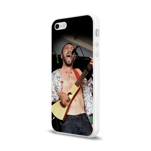 Чехол для Apple iPhone 5/5S силиконовый глянцевый  Фото 03, Ленинград 1