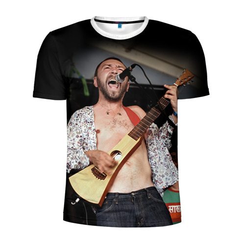 Мужская футболка 3D спортивная  Фото 01, Ленинград 1